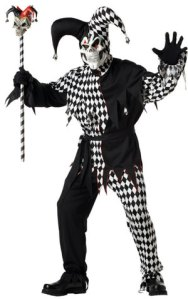 black-evil-costume