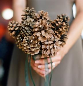 Букет за сватба на есенна тематика