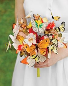 Букет от пеперуди